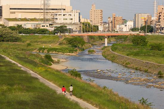 矢田川河川敷-8