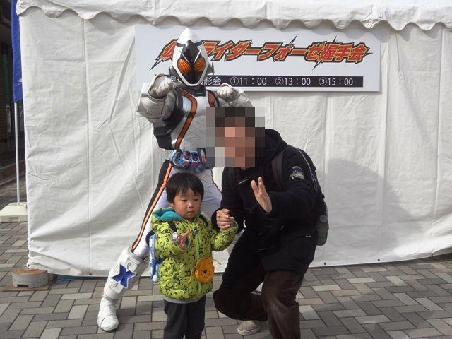 仮面ライダーフォーゼと写真