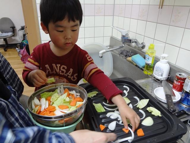 野菜炒めクッキング2