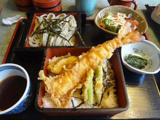 小嶋屋の天丼膳