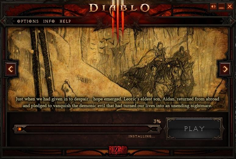 Diablo3正式サービス開始!