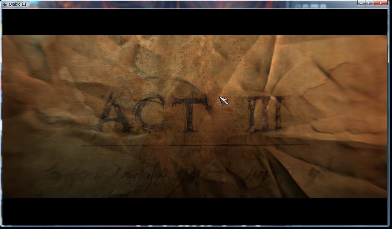 ACT3到達【Diablo3】