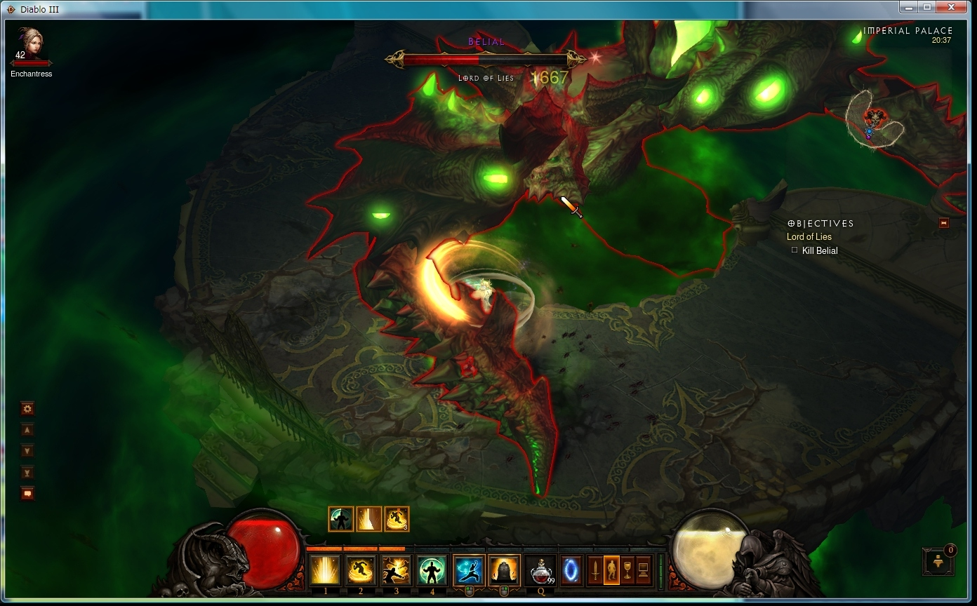【Diablo3】モンクACT4到達
