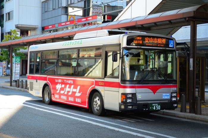 群馬バス 3301(群馬200か450)