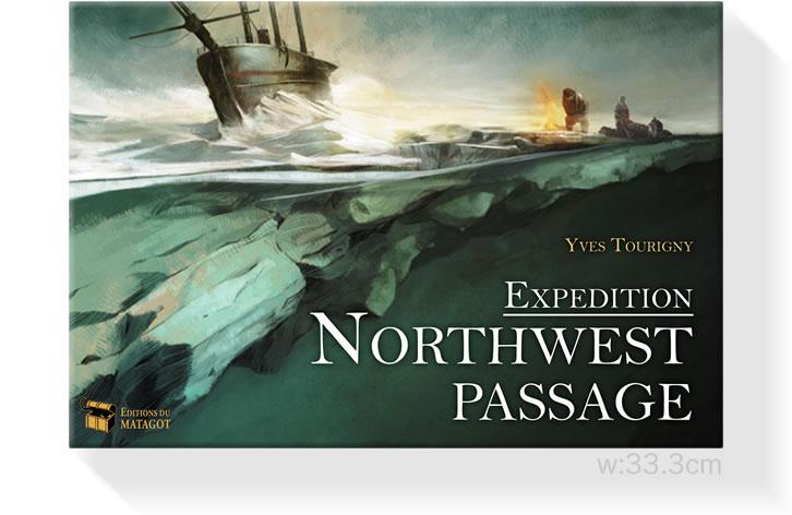 北西航路探検;箱