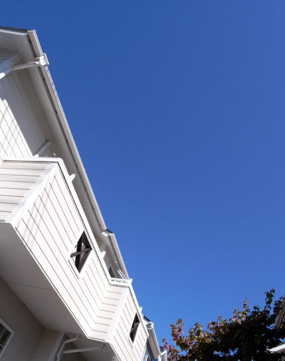 blue sky for solar