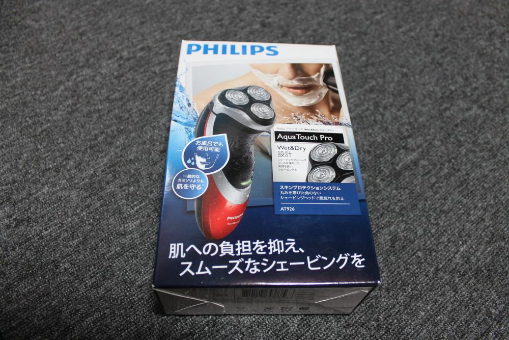 フィリップス シェーバー アクアタッチ AT926  を買った