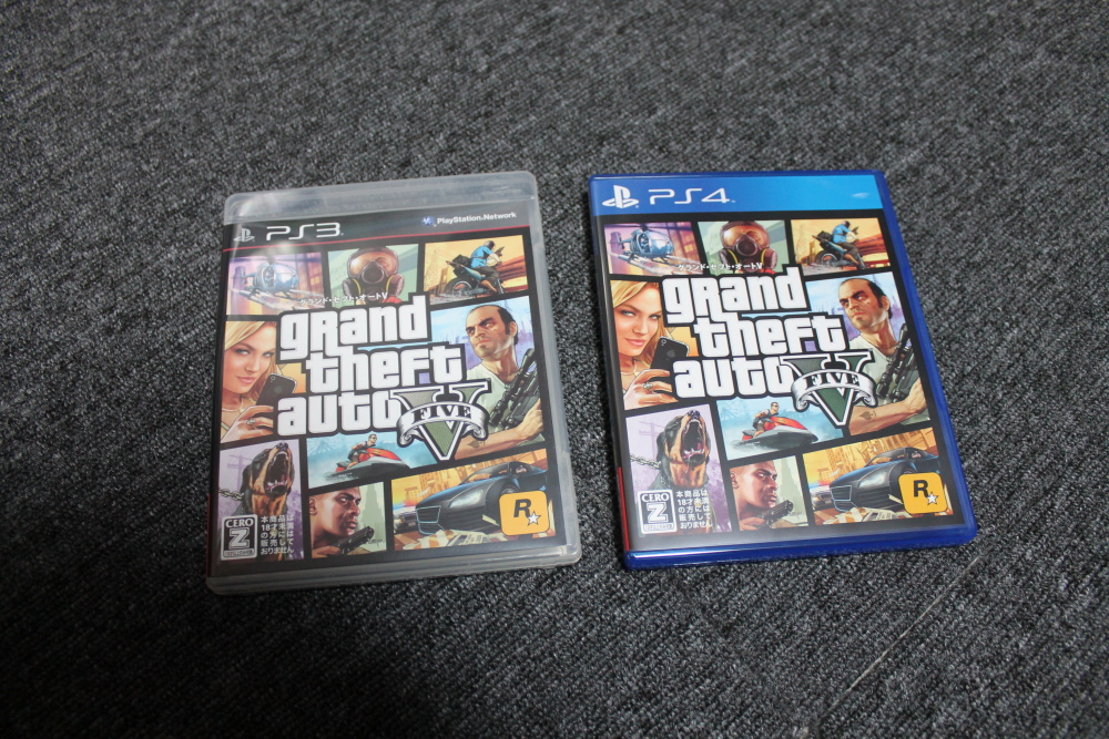 PS4版GTA5をプレイしたぜ