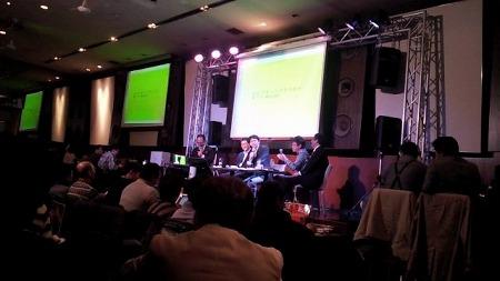 座談会の風景 第5回インデックス投資ナイト