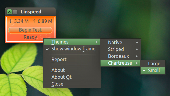 Linspeed Ubuntu テーマの変更