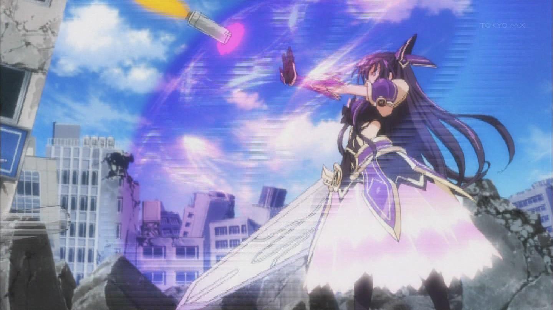 夜刀神十香のアニメキャプチャ画像 デレデレ 夜刀神十香の高画質