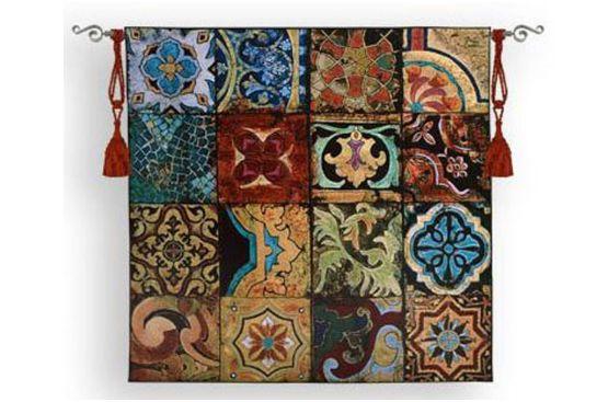 幾何学文様の発達したイスラム美術の結晶、ペルシャじゅうたん