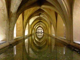 ペドロ王の最も愛した妃、マリア・デ・パデリアの水浴場