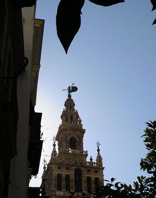 セビーリャのシンボル ヒラルダの塔