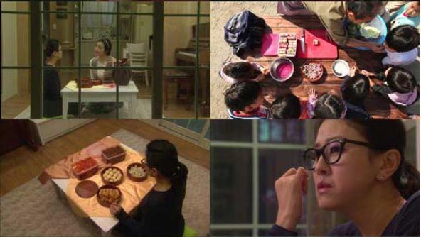 0独り暮らしのクムジュ先生においしいキムチ弁当を届けるウジュ 孤児院の子たちにキムチを漬けるギチャン