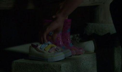 天地人430 ウンピに新しい靴をそっと置いてあげるホテ