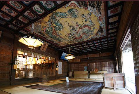 城上(きがみ)神社、内部