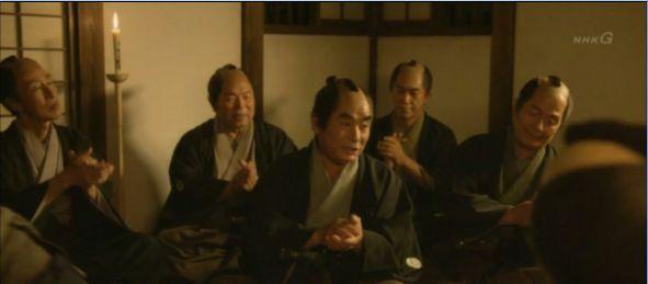 役者に交じって、会津の民謡をうたう会のみなさんが・・・